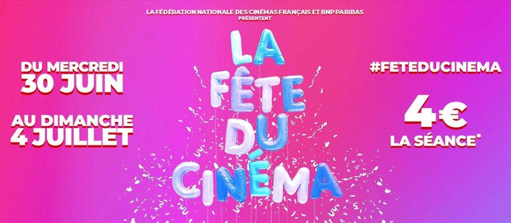 actualité Fête du cinéma 2021