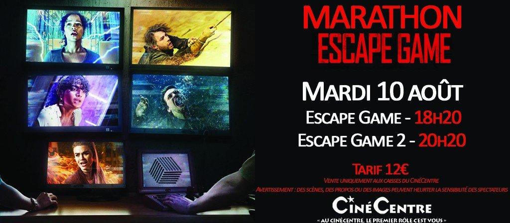 actualité MARATHON ESCPAE GAME