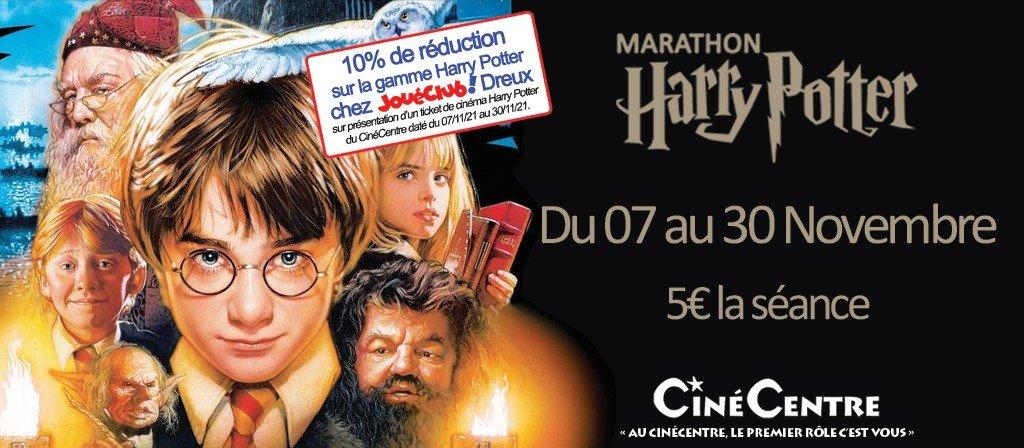 actualité MARATHON HARRY POTTER